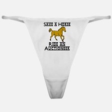 Auctioneer Classic Thong