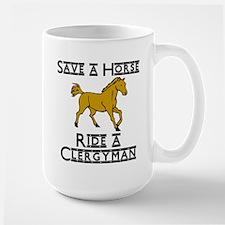 Clergyman Large Mug