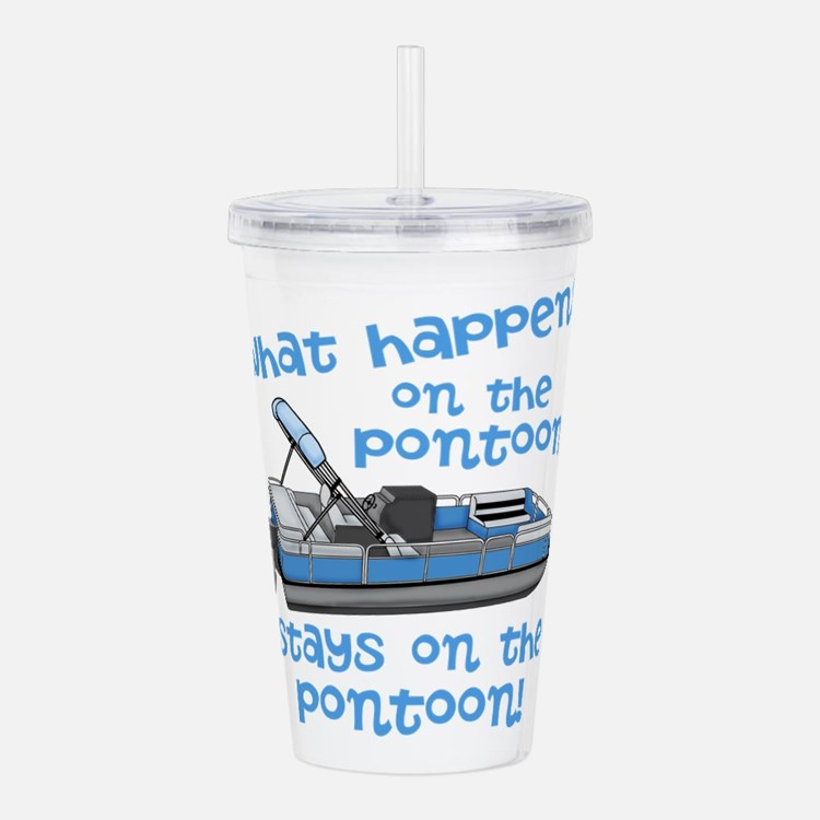 On The Pontoon Acrylic Double-wall Tumbler
