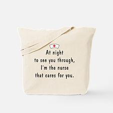 Nurses Care -- Tote Bag