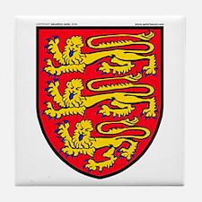 England: Heraldic Tile Coaster
