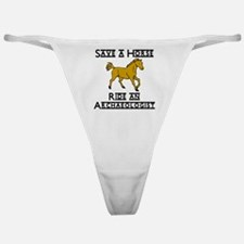 Archaeologist Classic Thong