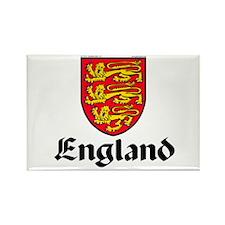 England: Heraldic Rectangle Magnet