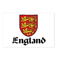 England: Heraldic Postcards (Package of 8)