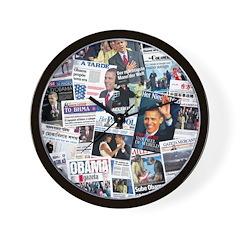 International Obama Inauguration Wall Clock
