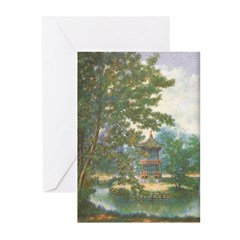 Tranquil Pagoda Greeting Cards (Pk of 10)