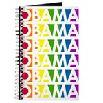 Stacked Obama Rainbow Pop Journal