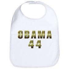Obama 44 Bib