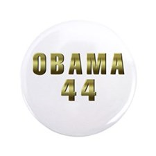 "Obama 44 3.5"" Button (100 pack)"