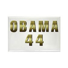 Obama 44 Rectangle Magnet (100 pack)
