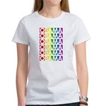 Stacked Obama Rainbow Pop Women's T-Shirt