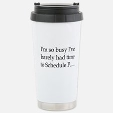 Actuary Stainless Steel Travel Mug