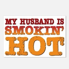 My Husband is Smokin Hot Postcards (Package of 8)