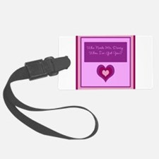 Who Needs Mr. Darcy? Luggage Tag