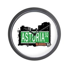 ASTORIA SQUARE, QUEENS, NYC Wall Clock