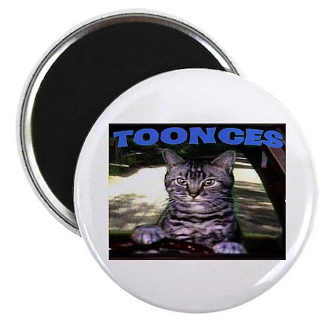 """TOONCES 2.25"""" Magnet (10 pack)"""