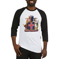 Iceland Coat Of Arms Baseball Jersey