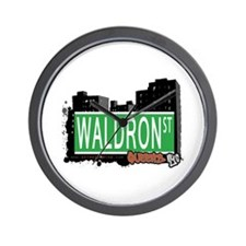 WALDRON STREET, QUEENS, NYC Wall Clock