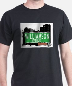 WILLIAMSON AVENUE, QUEENS, NYC T-Shirt