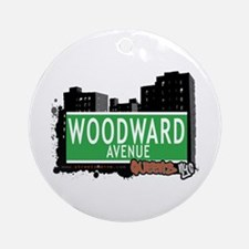 WOODWARD AVENUE, QUEENS, NYC Ornament (Round)