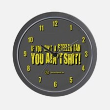 Unique Pittsburgh yinz Wall Clock
