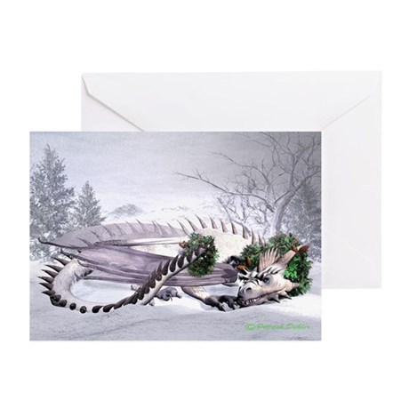 Ice Dragon Greeting Cards (Pk of 20)