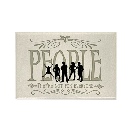 People Rectangle Magnet (10 pack)