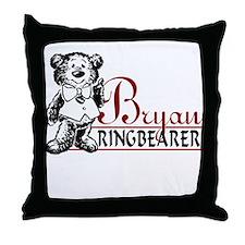Cute Ringbearer Throw Pillow