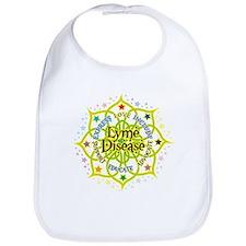 Lyme Disease Lotus Bib