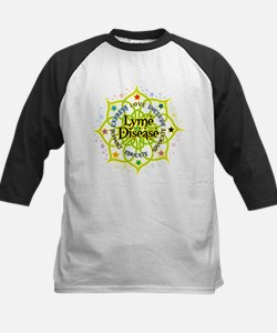 Lyme Disease Lotus Kids Baseball Jersey