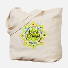 Lyme Disease Lotus Tote Bag