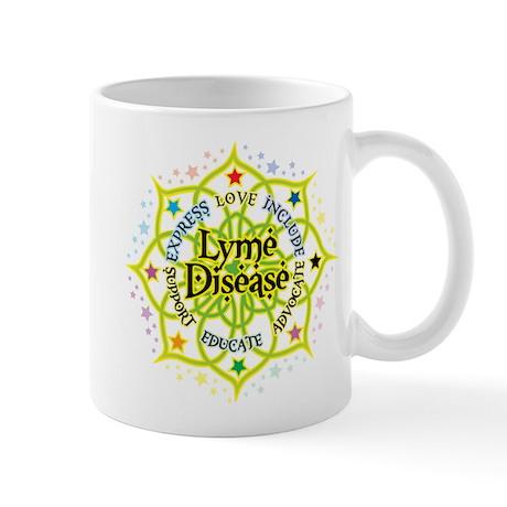 Lyme Disease Lotus Mug