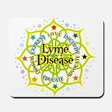 Lyme Disease Lotus Mousepad