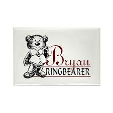 Funny Ringbearer Rectangle Magnet