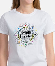 Juvenile Diabetes Lotus Women's T-Shirt