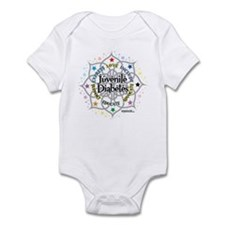Juvenile Diabetes Lotus Infant Bodysuit