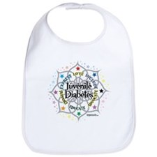 Juvenile Diabetes Lotus Bib
