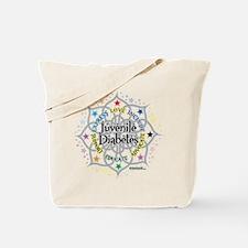 Juvenile Diabetes Lotus Tote Bag