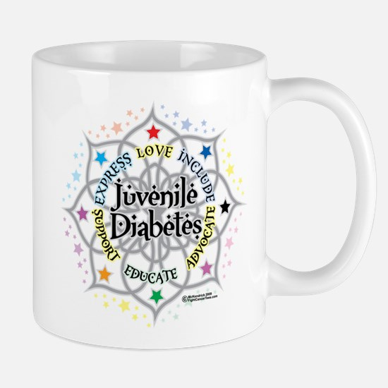 Juvenile Diabetes Lotus Mug