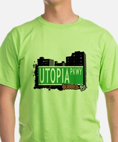 UTOPIA PARKWAY, QUEENS, NYC T-Shirt