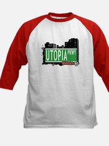 UTOPIA PARKWAY, QUEENS, NYC Kids Baseball Jersey