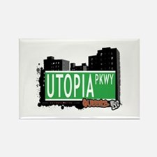UTOPIA PARKWAY, QUEENS, NYC Rectangle Magnet
