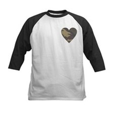 Camouflage Heart Military Valentine Tee