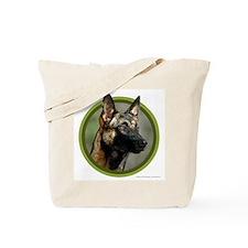 Malinois Art Tote Bag
