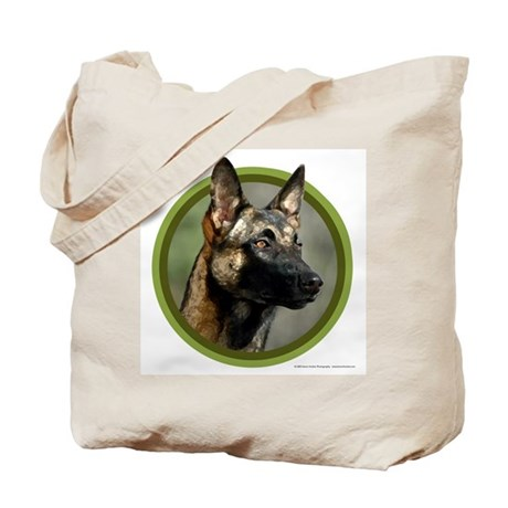 Malinois Art Tote Bag