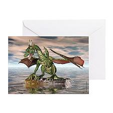 Dragon Balancing Greeting Card