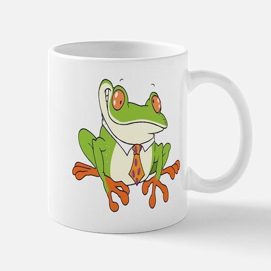 Dressed Up Frog Mug
