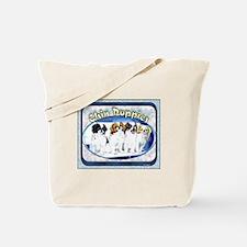 Japanese Chin Puppies Tote Bag