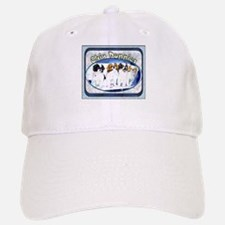 Japanese Chin Puppies Baseball Baseball Cap