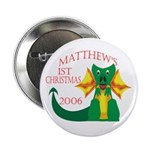 Matthew's 1st Christmas 2006 Button